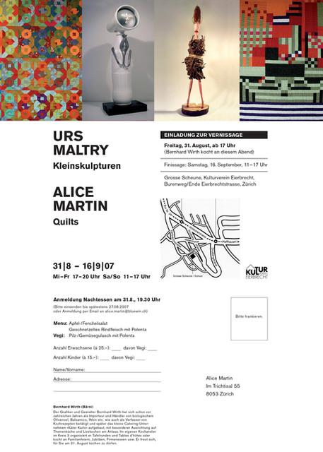 2007 Urs Maltry Alice Martin