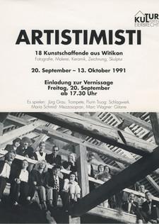 1991 Artisti Misti Gründungsparty