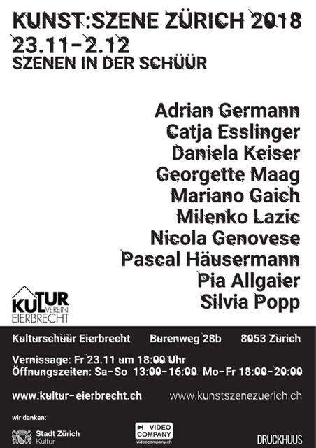 2018 KUNST:SZENE Zürich