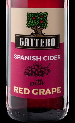 El Gaitero Red Grape Spanish Cider