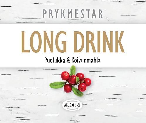 Puolukka-Koivunmahla Long Drink