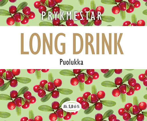 Prykmestar Puolukka Long Drink