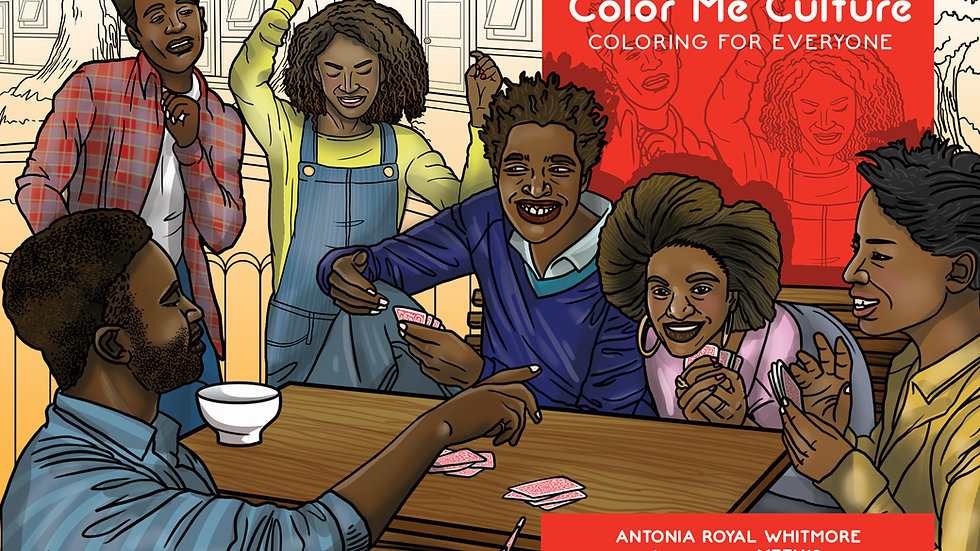 Color Me Culture: Coloring for Everyone