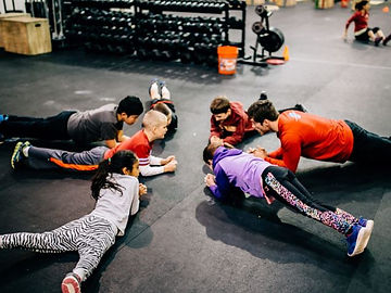 Kids Crossfit Steps Maple Ridge