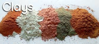 Clays & Powders for your natural skincare product.