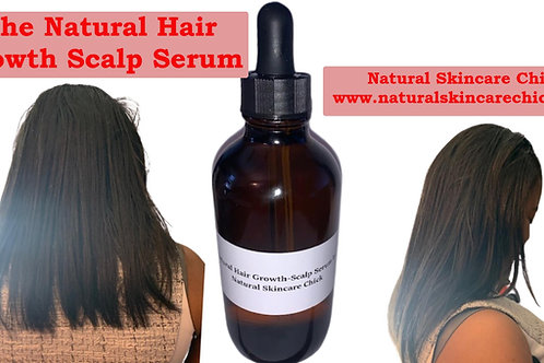 Natural Hair Growth-Scalp Serum by Natural Skincare Chick