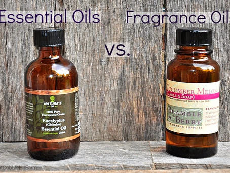Essential Oils V/S Fragrance Oils