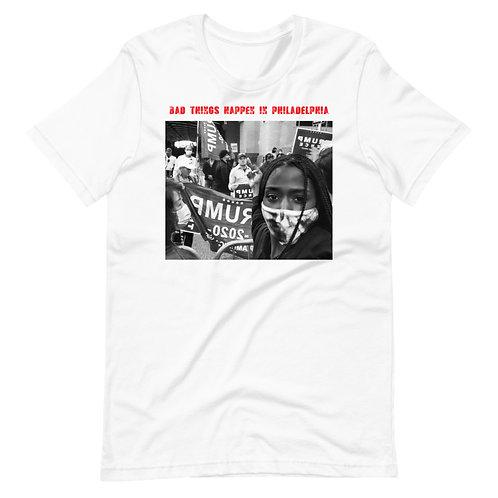 Bad Things happen In Philadelphia Short-Sleeve Unisex T-Shirt