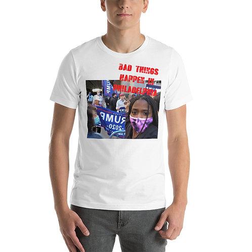 Bad Things Happen in Philadelphia color version Short-Sleeve Unisex T-Shirt