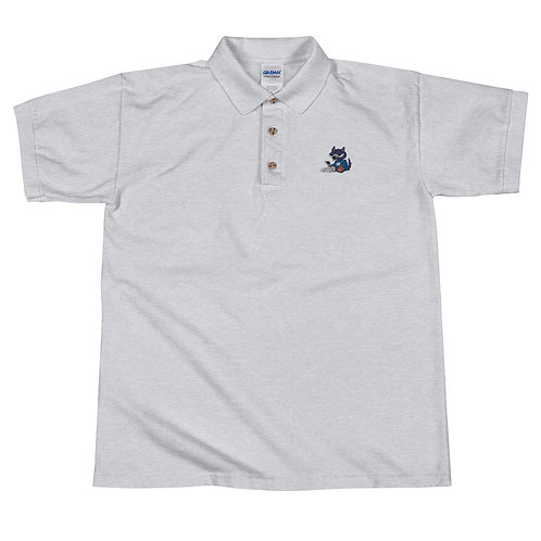 Wolf with a camera Polo Shirt