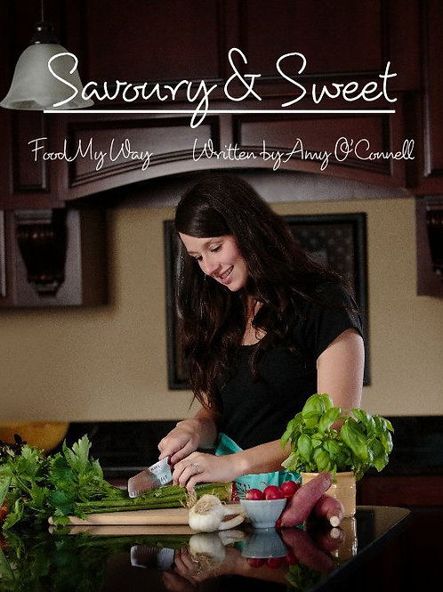 Cookbook written by Amy O'Connell