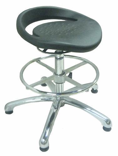 PU556 ESD Anti Static High Lab Stool with PU Seat