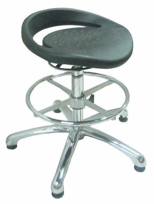 PU556 ESD Anti Static High Stool with PU Seat