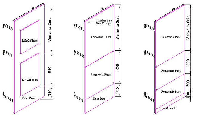 IPS Duct Panelling Options