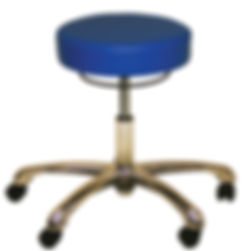 Industrial Laboratory Stool woth Blue Vin