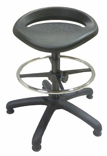 PU552 High Lab Stool with PU Seat