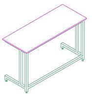 C Frame Bench