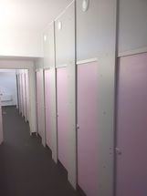 Buy Full Height 18mm MF MDF DA Range Toilet Cubicles from UK Cubicles Online