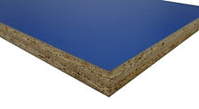 18mm MFC panel in blue for quick toilet cubicles