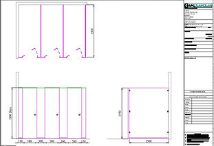 Buy Floor Sat CGL School Toilet Cubicles from UK Cubicles Online