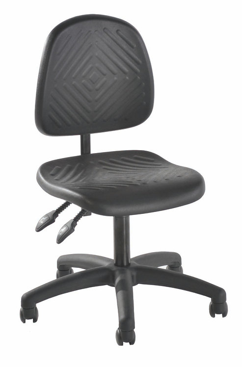 002 Deluxe Polyurethane Laboratory Low Chair