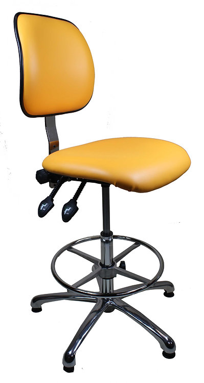 405 High Upholstered Clean Room Chair