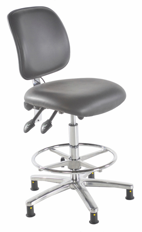 UK Lab Chairs Offer You The 301 ESD Anti Static Vinyl High Chair