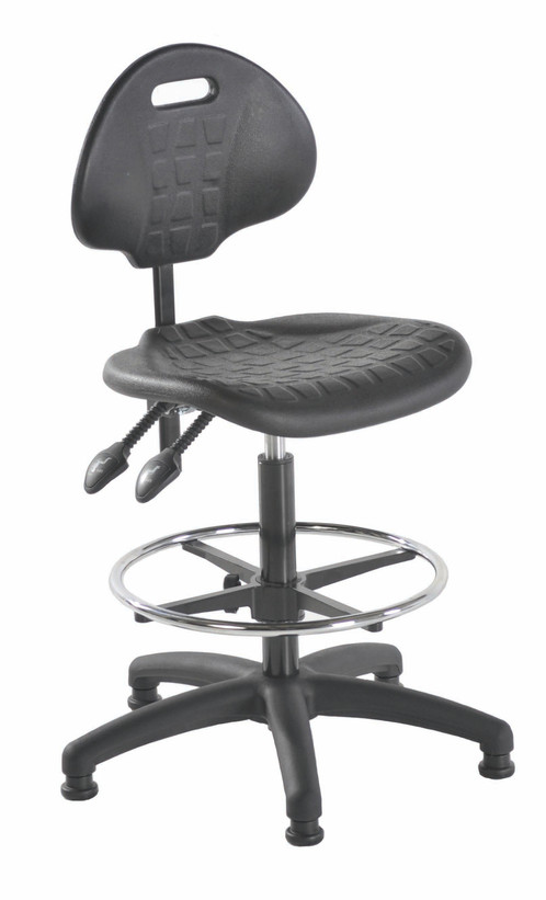 UK Lab Chairs Offer You The A12 Budget Polyurethane High Chair