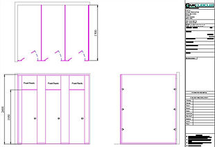 Buy Full Height CGL CU Range Toilet Cubicles from UK Cubicles Online