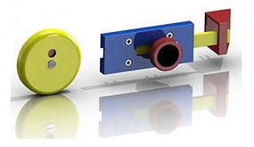 Children'sToiletCubicle Indicator Slide Bolt