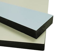 13mm CGL panel with black edge for Vanity Unit