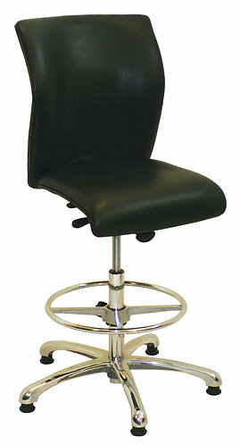 M12 Deluxe High Chair with Chrome Fittings