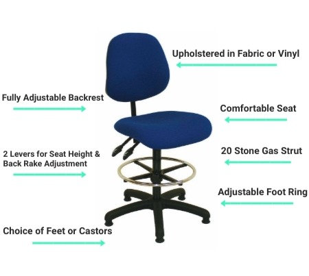 A5 Draughtsman Chair