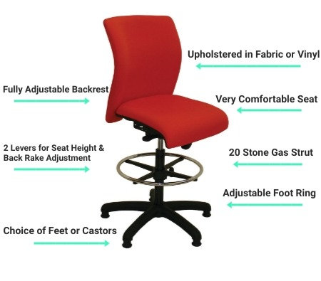 M10 Deluxe High Chair