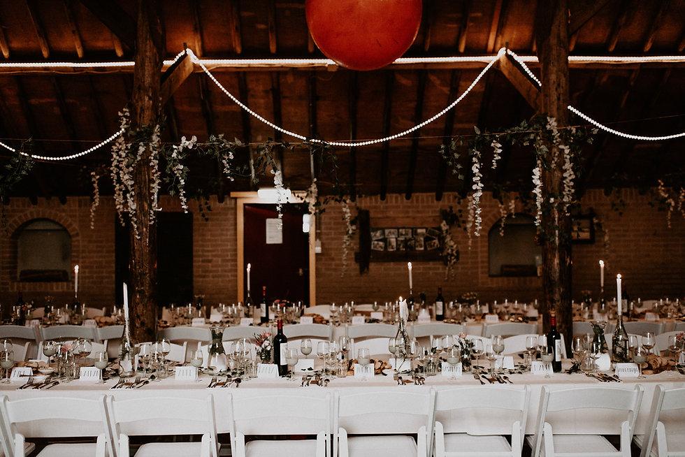 Diner op locatie bruiloft Terschelling.j