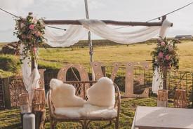 Bruiloft in eigen tuin