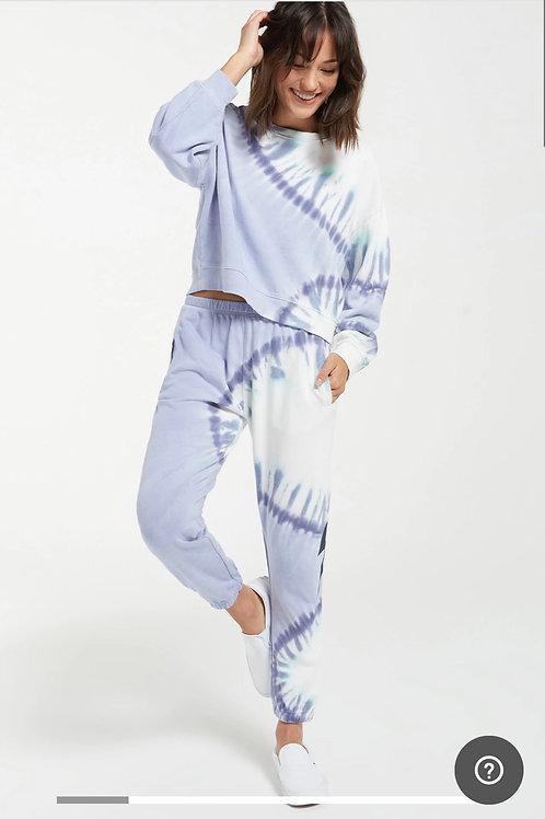 Sunburst Tie-Dye Pullover
