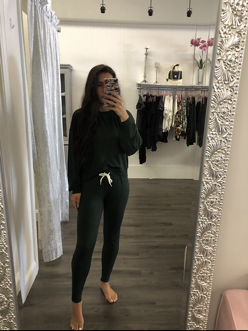 Z-Supply Forest Green Joggers