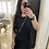 Thumbnail: Black Dress with Tie Front