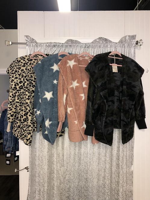 Printed Bear Coats