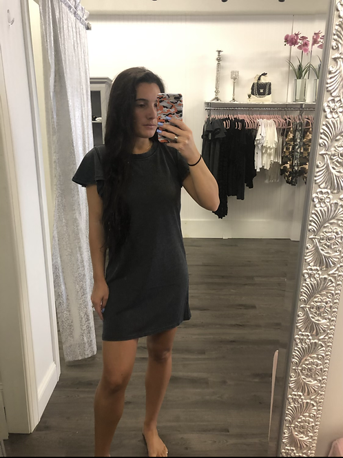 Z-Supply Flutter Sleeve Dress