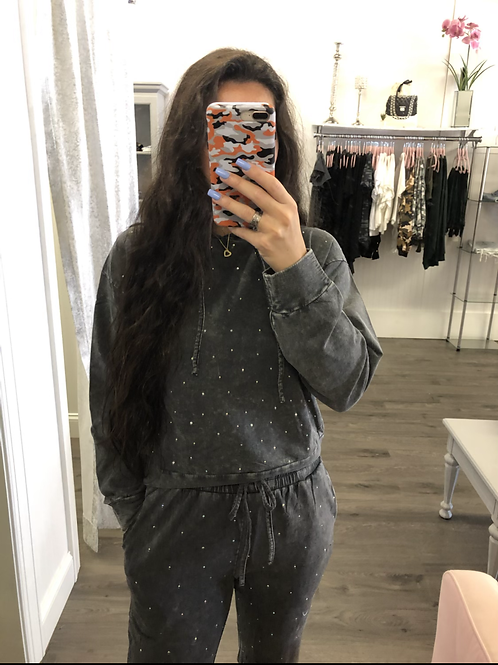 Rhine Stone Sweatshirt