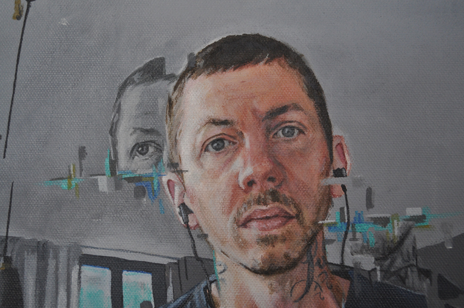 Detail of Professor Green