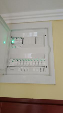 Home electrical box rebuilt