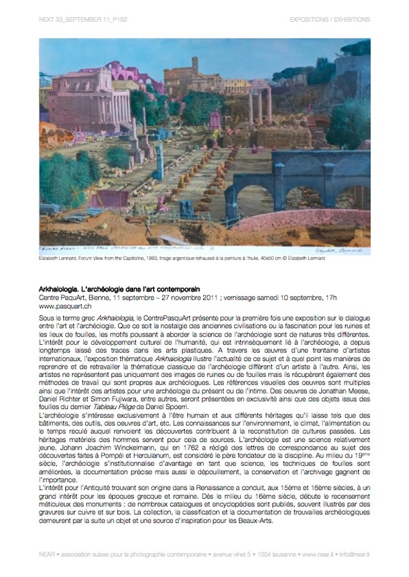 Arkhaiologia Centre Pasquart