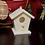 Thumbnail: Custom Text Birdhouse Ornament