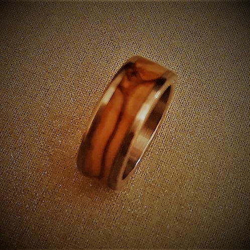 Bethlehem Olive In-laid Ring