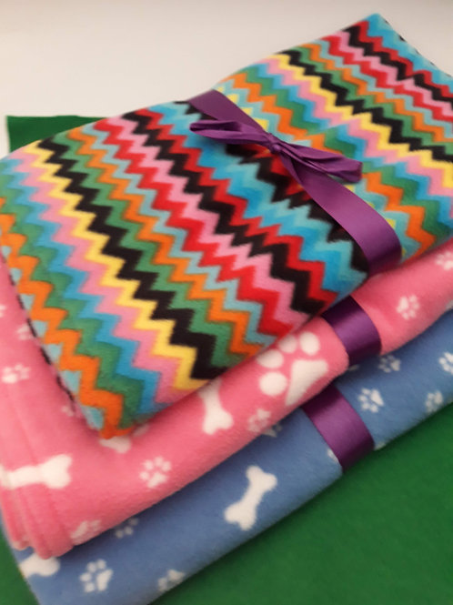 Super Soft Fleece Dog Blankets - Small - Click to see full range