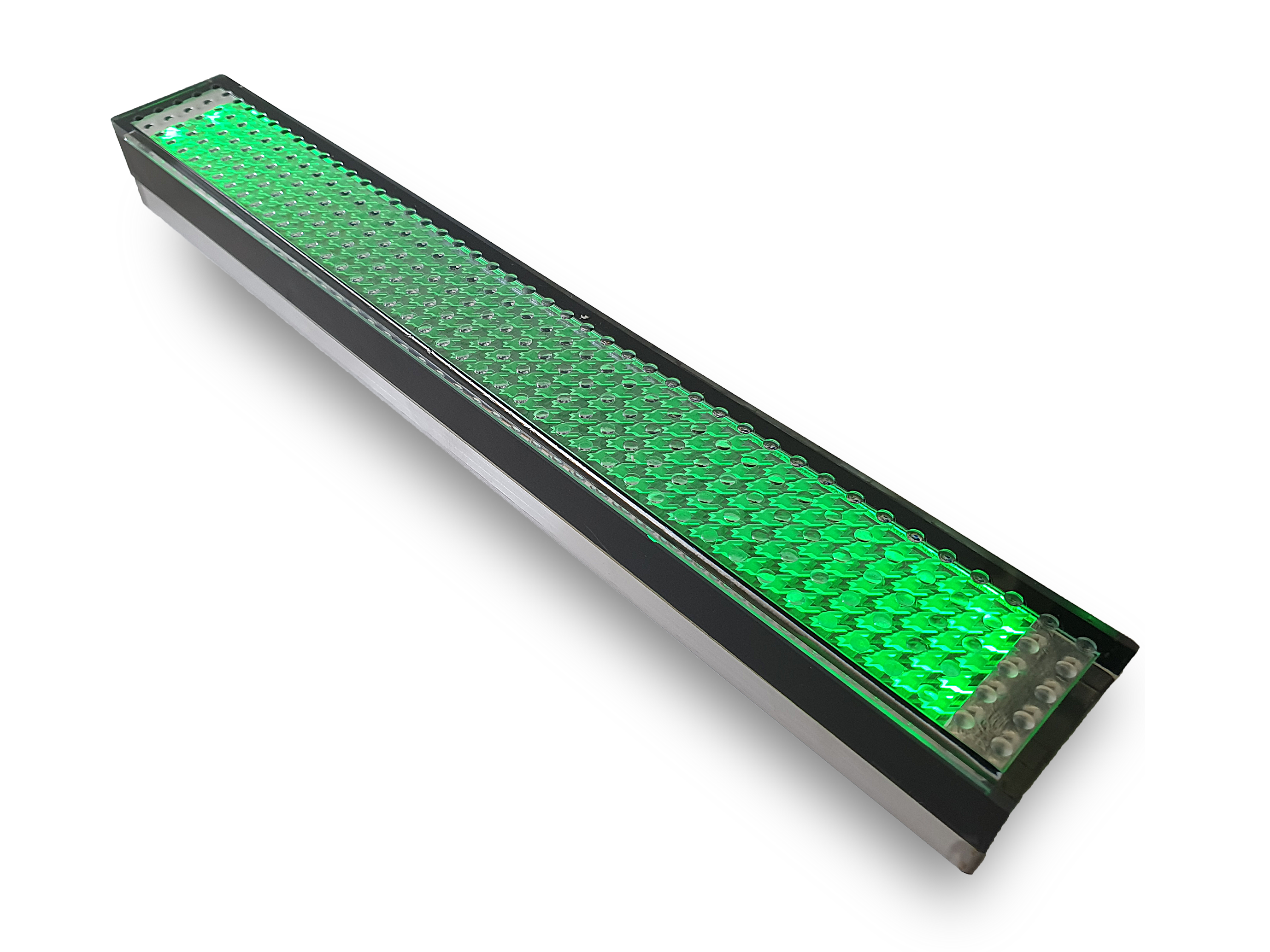 ライン点灯時緑
