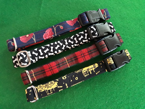 Medium Size - Patterned Dog Collars - Click to see our full range